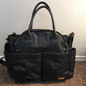 Skip*Hop Chelsea Diaper Bag-Black
